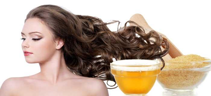 Желатиновая маска для волос (ламинирование)