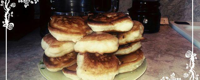 Пышные оладьи простой рецепт приготовления!!!